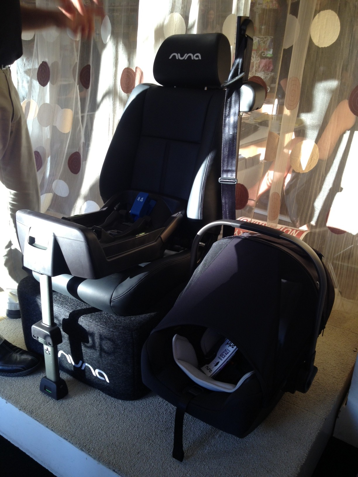 Ill Write A Full Review Of This Car Seat Once 2 Is Actually Here Now The Hubby Dying To Try Out Their Version Baby Bouncer Lounger Nuna
